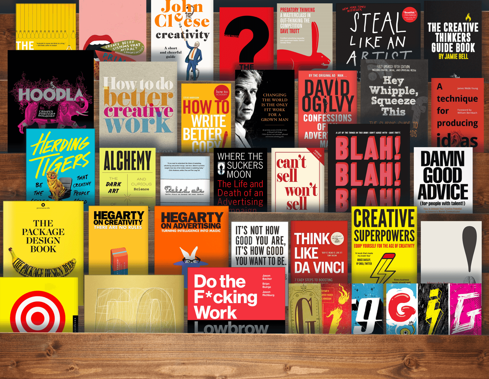 Books about Creativity - best books on creativity and innovation